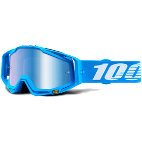 100% Racecraft Anti Fog Mirror goggles, monoblock
